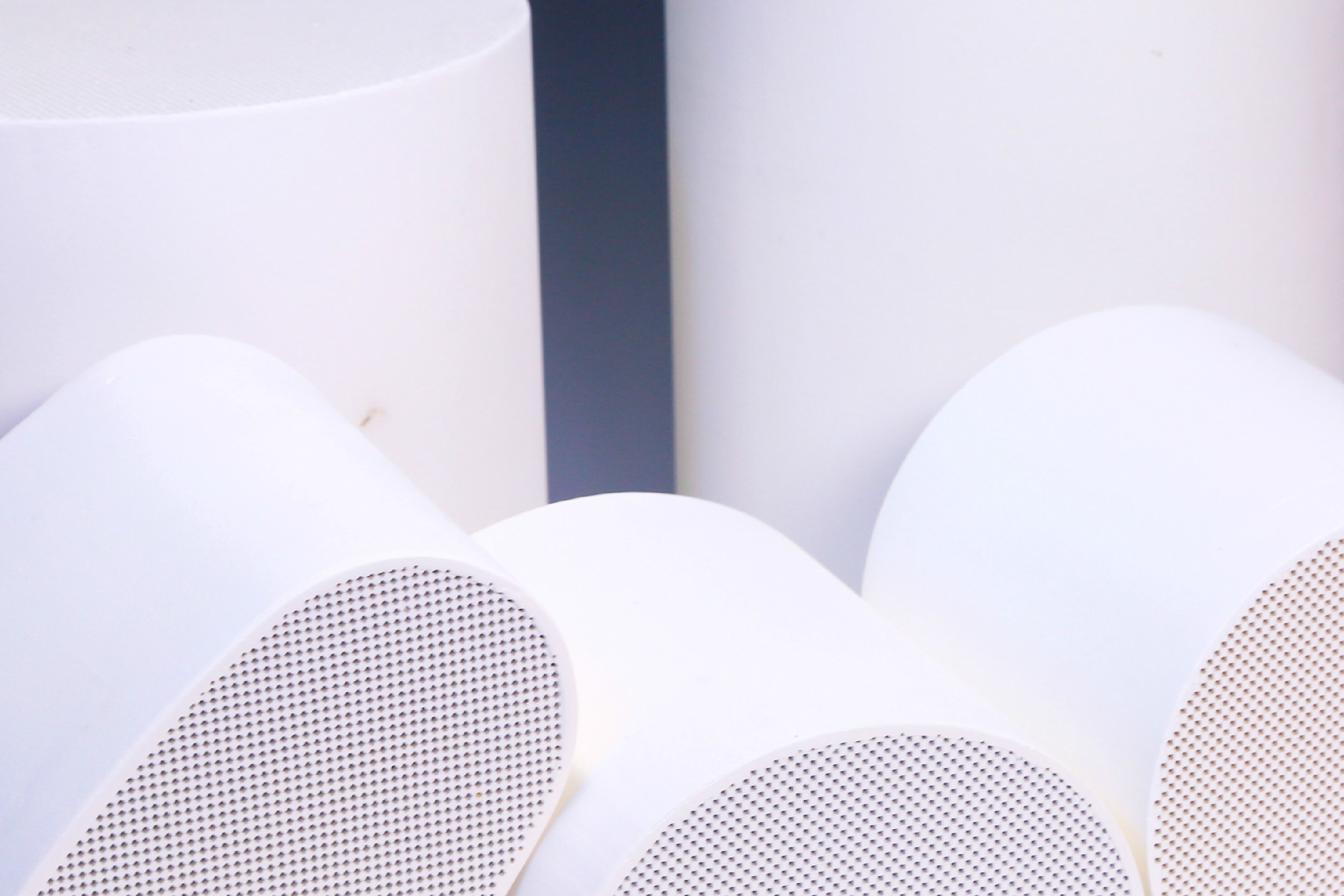 Al2O3 Cordierite DPF Honeycomb Ceramic Filter For Particle Filter